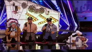 """#Full Segment  America's Got Talent Season 12  Auditions 6  Episode 6#talentshowsFor more HD full episode videos of America's Got Talent – please subscribe & follow» Get The America's Got Talent App: http://bit.ly/AGTApp» Subscribe for More: https://goo.gl/e12UJ8» America's Got Talent Returns Tuesday May 30 8/7c on NBC!» Watch Full Episodes Free: http://bit.ly/AGTFullEpisodesAMERICA'S GOT TALENT ON SOCIALLike AGT: https://www.facebook.com/agtFollow AGT: https://twitter.com/agtAGT Tumblr: http://nbcagt.tumblr.com/AGT Instagram: http://instagram.com/agtIn season 12, NBC's America's Got Talent follows Simon Cowell, Heidi Klum, Mel B and Howie Mandel in their talent search, showcasing unique performers from across the country. Find America's Got Talent trailers, full episode highlights, previews, promos, clips, and digital exclusives here. NBC ON SOCIALLike NBC: http://Facebook.com/NBCFollow NBC: http://Twitter.com/NBCNBC Tumblr: http://NBCtv.tumblr.com/NBC Pinterest: http://Pinterest.com/NBCtv/NBC Google+: https://plus.google.com/+NBCYouTube: http://www.youtube.com/nbcNBC Instagram: http://instagram.com/nbcABOUT AMERICA'S GOT TALENTWith the talent search open to acts of all ages, """"America's Got Talent"""" has brought the variety format back to the forefront of American culture by showcasing unique performers from across the country. The series is a true celebration of the American spirit, featuring a colorful array of singers, dancers, comedians, contortionists, impressionists, jugglers, magicians, ventriloquists and hopeful stars, all vying for their chance to win America's hearts and the $1 million prize.America's Got Talent 2017https://goo.gl/e12UJ8America's Got Talenthttps://goo.gl/e12UJ8"""