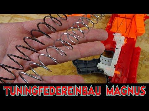 EINBAU BLASTERPARTS TUNING FEDER IN NERF MAGNUS