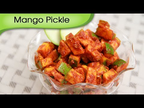 Raw Mango Pickle – Instant Aam Ka Achar Recipe by Ruchi Bharani