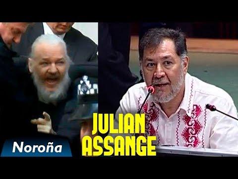 Repudio la Detención de Julian Assange - Noroña
