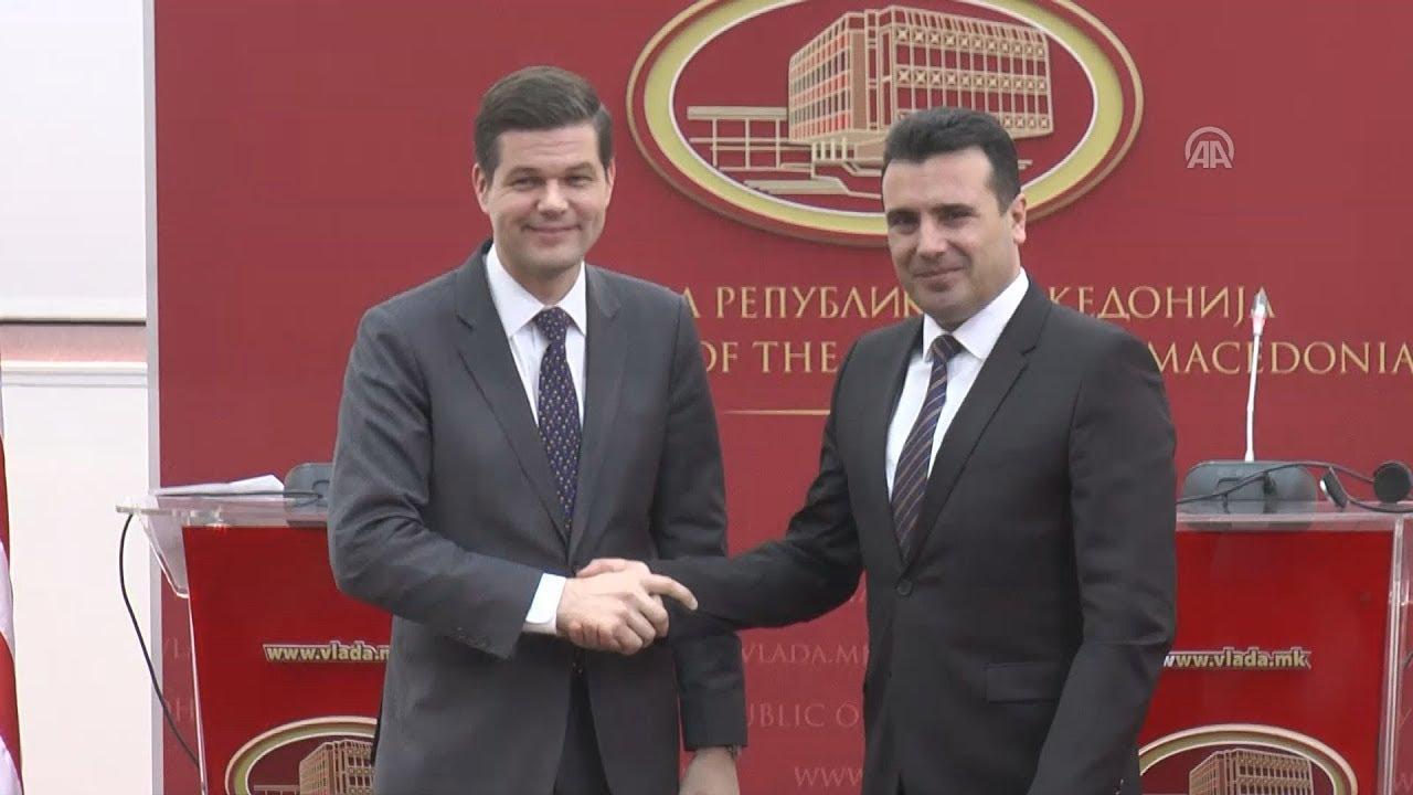 Ο υφυπουργός Εξωτερικών των ΗΠΑ, Γουές Μίτσελ στα Σκόπια
