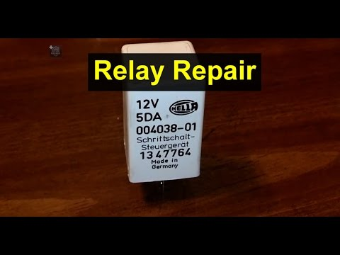 How to repair a relay, bad solder joints, car, truck, etc. – VOTD