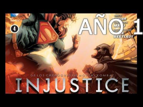 INJUSTICIA DIOSES ENTRE NOSOTROS - AÑO 1 - PARTE 1