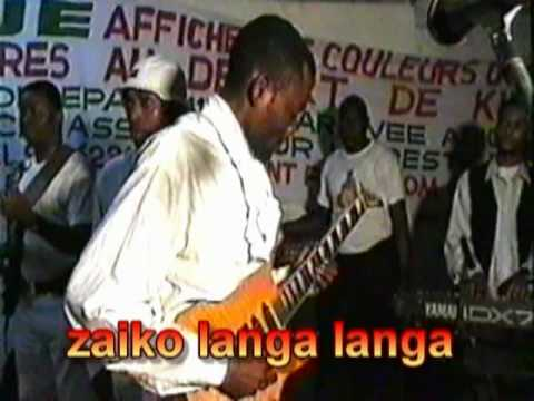 zaiko langa langa et papa wemba en 2001