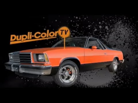 Dupli-Color Paint Shop Part 1: El Camino