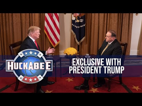 An Exclusive Interview with President Donald Trump (Full Interview) | Huckabee (видео)