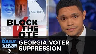 Video GOP Voter Suppression Ramps Up in Georgia | The Daily Show MP3, 3GP, MP4, WEBM, AVI, FLV Oktober 2018