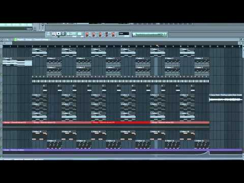 Kanye West Flashing Light Remake FL Studio