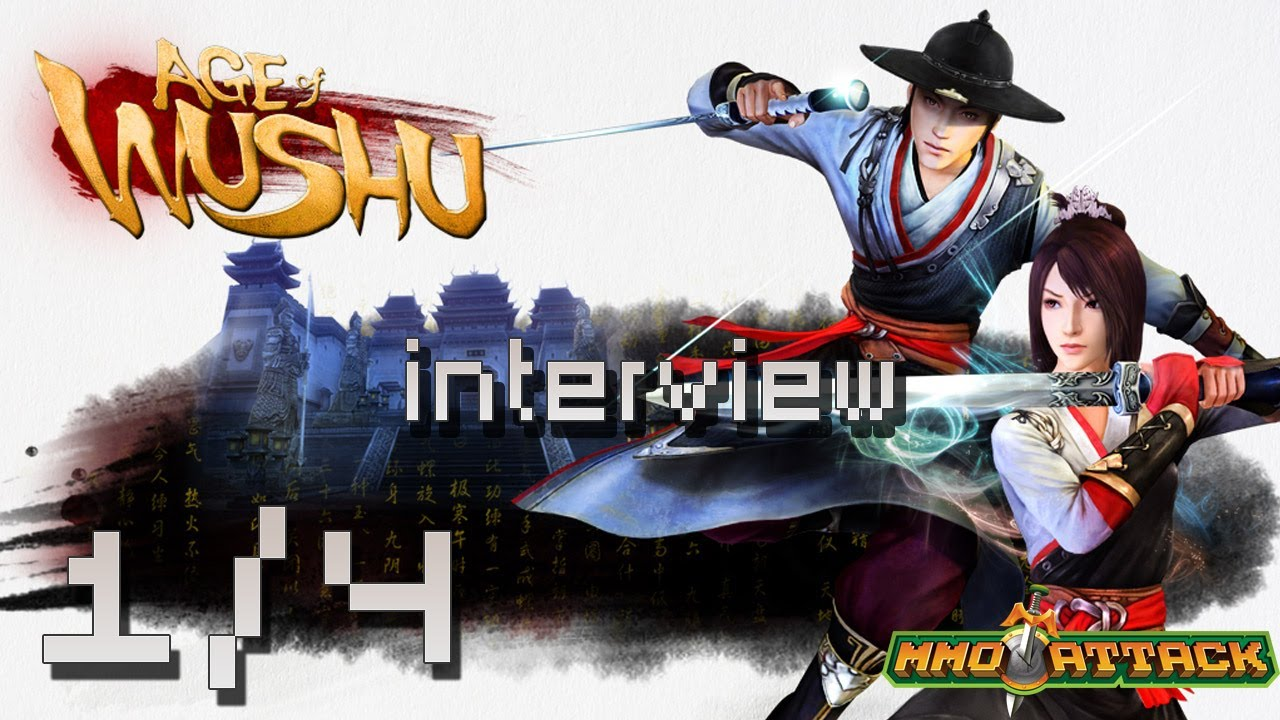 Age of Wushu In Studio Gameplay and Interview