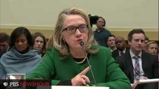 Clinton Testify Before House on Benghazi Attack