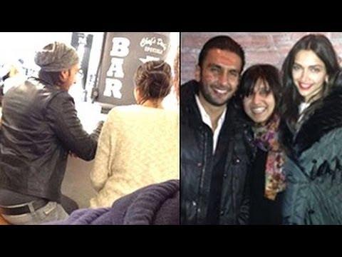 Deepika & Ranveer CAUGHT Getting COSY in New York