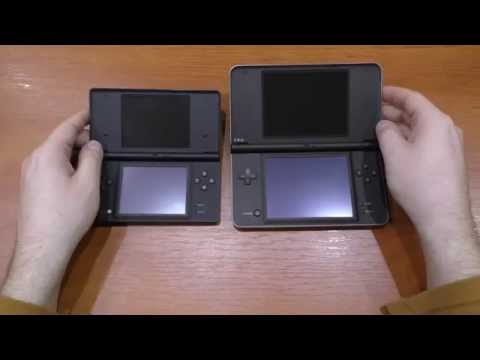 Обзор и сравнение DSi и DSi XL, + 3DS XL часть 1