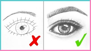 Video DOs & DON'Ts: How to Draw Realistic Eyes Easy Step by Step | Art Drawing Tutorial MP3, 3GP, MP4, WEBM, AVI, FLV Desember 2018
