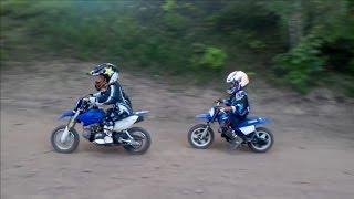6. 4 тренировка, Yamaha PW50 & TTR50