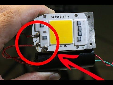 Скрытые возможности светодиодной панельки ТАКОГО ВЫ НЕ ЗНАЛИ - DomaVideo.Ru