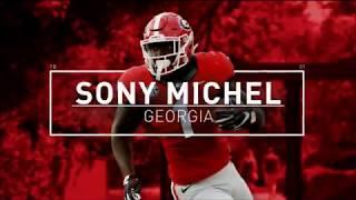 Sony Michel    Senior Highlights 2017