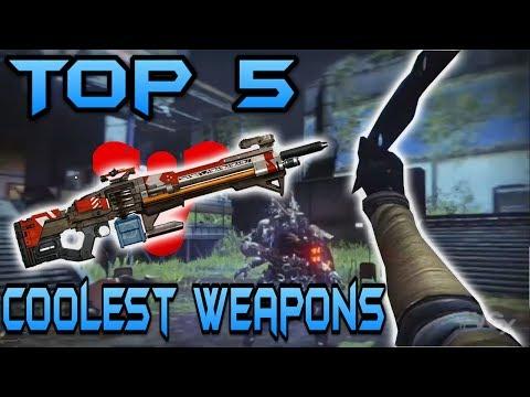 Destiny : Top 5 Coolest Guns / Weapons (Destiny Gamplay) видео