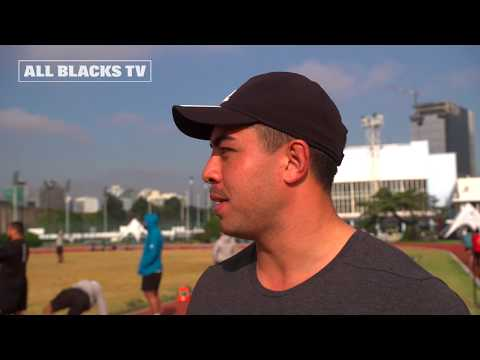 Cricket fever hits the All Blacks