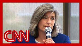 Voter confronts GOP senator: Where's the line?