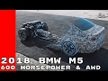 New 2018 BMW M5 With 600 Horsepower & AWD