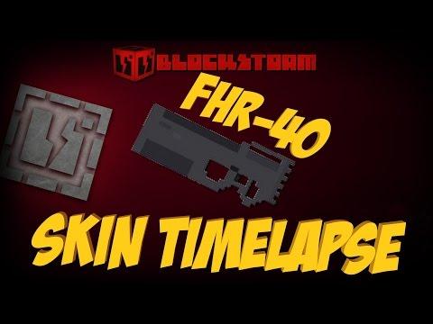Editeur Timelapse : Création d'un skin FHR-40 pour la MP5