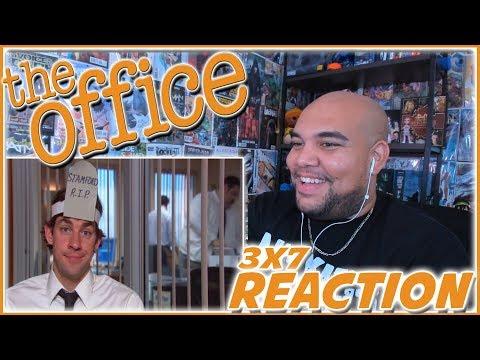 """The Office Season 3 Episode 7 REACTION """"Branch Closing"""" 3x7 Reaction"""