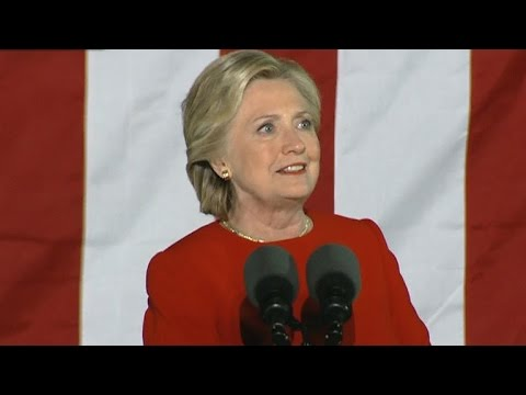 Full Video: Hillary Clinton speaks at Philadelphia rally on the eve of Election Day