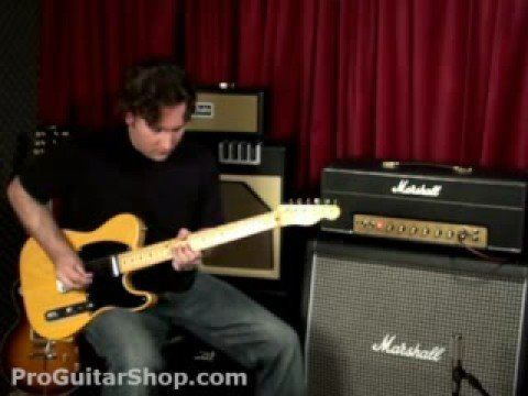 marshall - http://www.ProGuitarShop.com- Marshall 1987X Plexi Though the 50 Watt Marshall Plexi 1987X shares the same front and rear panel features as its big brother, ...