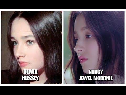 MOMOLAND Nancy Jewel McDonie × Olivia Hussey 'Look ALike'