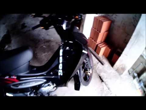 MOSTRANDO DETALHES DA DAFRA ZIG 100cc