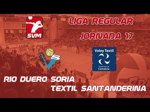 Directo del Río Duero Voley - Textil Santanderina.