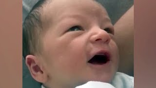 Ana Patricia Gámez comparte tierno vídeo de su hijo Gael con 1 semana de nacido