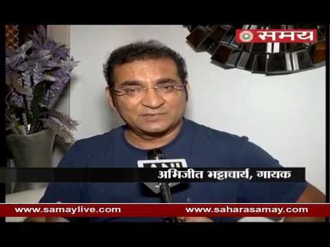 Singer Abhijeet Bhattacharya on his controversial tweet