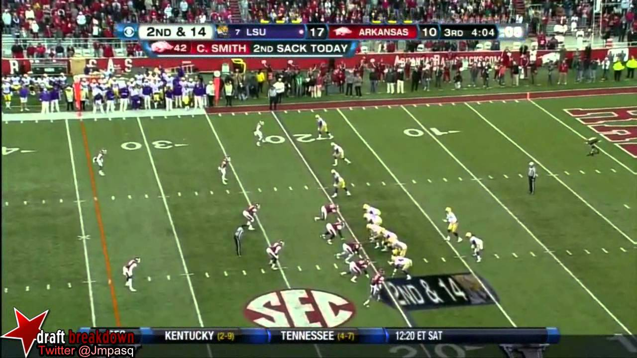 Zach Mettenberger vs Arkansas (2012)