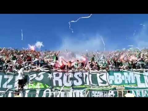 Salida Santiago Wanderers vs CC (HD) AWANTE.CL - Los Panzers - Santiago Wanderers