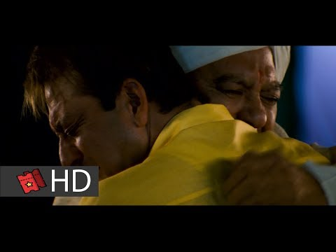 Munna Bhai MBBS (2003) - Baap Ko Gale Nhi Lagaega Scene (10/10) | Movieclipshindi