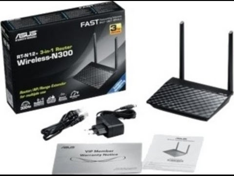 Unboxing of  Asus RT-N12+ 300 Mbps 3-in-1 Router / AP / Range Extender