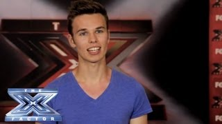 Yes, I Made It! Garrett Brown - THE X FACTOR USA 2013
