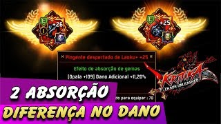 Video Absorption 2 Gems of One Once, Let's Check Difference in Damage - Kritika MP3, 3GP, MP4, WEBM, AVI, FLV Desember 2018