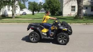 9. 2011 Can Am Commander 800R ATV