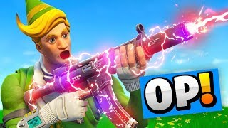 This GUN Is Now A LASER! - Fortnite Battle Royale