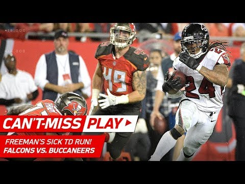 Video: Devonta Freeman's Sick Juke Sends Defender to the Ground on TD Run! | Can't-Miss Play | NFL Wk 15