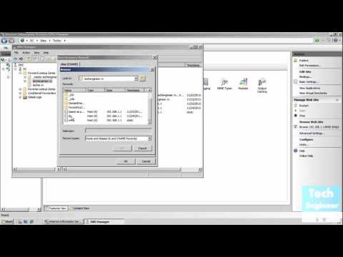 Hosting Multiple Sites using Same IP and Ports in IIS - Windows Server 2008