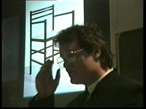 Jeremy Broun - Design Museum furniture lecture