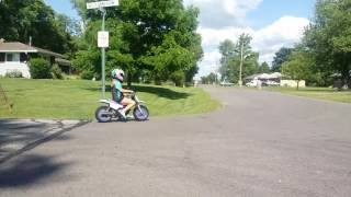 10. Yamaha pw50  and my 8 year old daughter