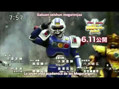 Super Hero Getter Movie Version Full ( Kaizoku Sentai Gokaiger )