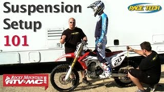 8. Basic Suspension Setup On A Motorcycle
