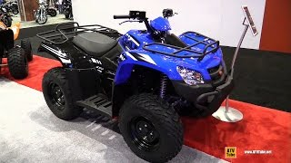 9. 2017 Kymco MXU 450i Recreational ATV - Walkaround - 2016 AIMExpo Orlando