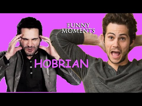 """you Giving Me A Heart Attack"" - Funny Hobrien (Sterek) Moments"