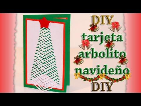 COMO HACER TARJETA ARBOL DE NAVIDAD TROQUELADO - DIY - HOW TO MAKE CHRISTMAS TREE CARD